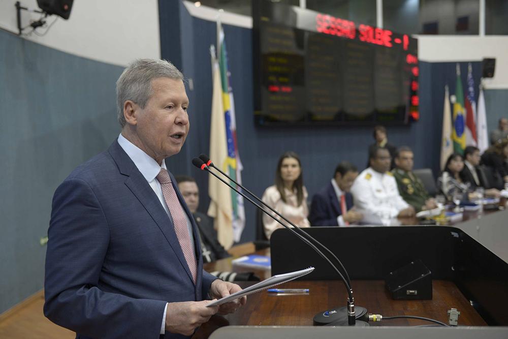 Arthur abre o ano legislativo