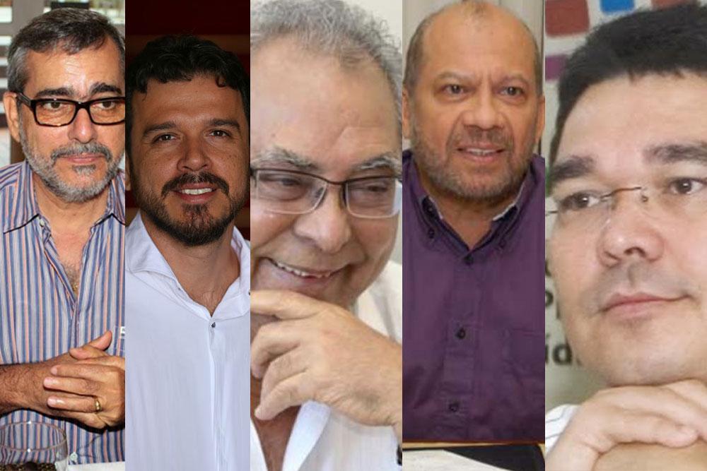 Amazonino conversa sobre mudanças e chama Robério Braga e Vicente Nogueira