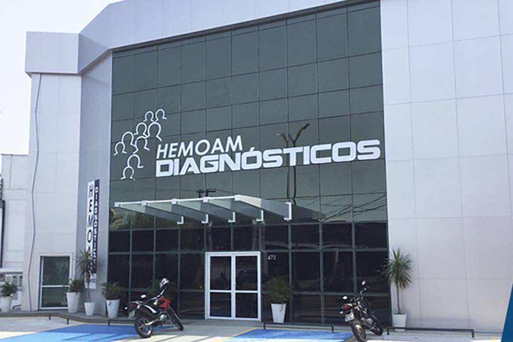 Novas instalações do Hemoam Diagnósticos