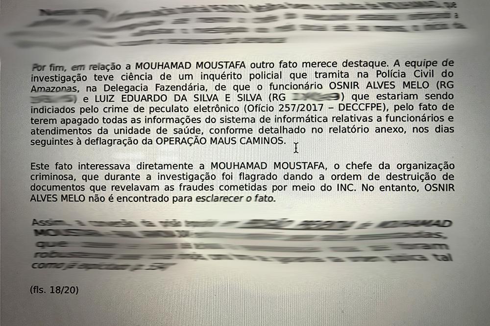 Mouhamad teria subornado funcionários do TCE