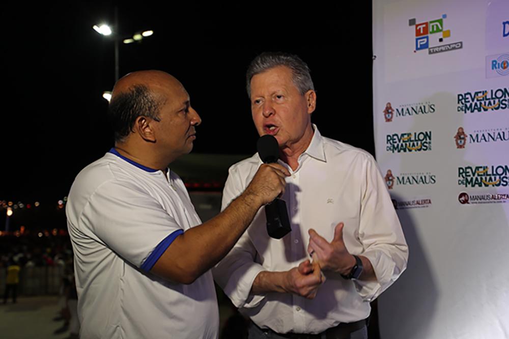 Arthur Virgílio e Geraldo Alckmin