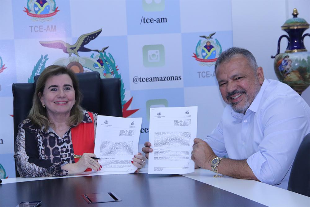 TCE e Seinfra fecham cooperação técnica