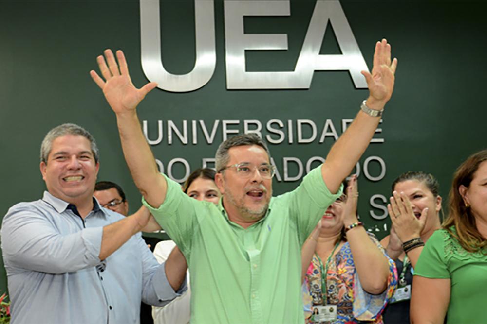 Cleinaldo Costa foi reeleito reitor da UEA