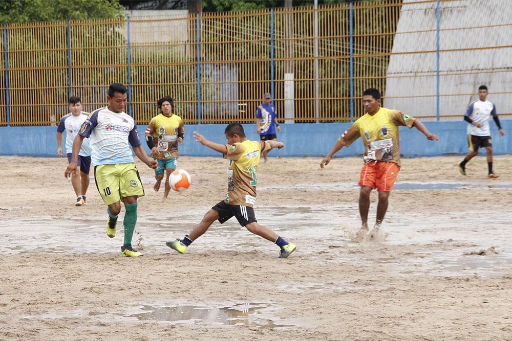 Final dos Jogos Indígenas de Futebol