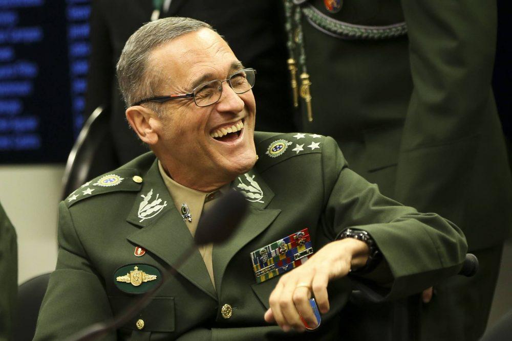 Comandante geral do Exército, general Eduardo Villas Boas, repudiou a impunidade